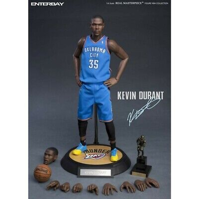 $295 • Buy Enterbay NBA Collection Kevin Durant 1:6 Scale Real Masterpiece