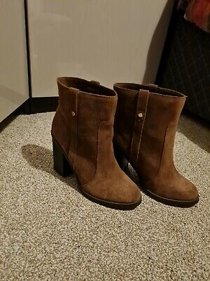 Womens New Look Tan Ankle Boots Size 5. • 3£