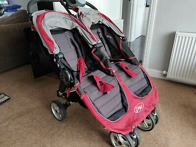 Baby Jogger City Mini Double Pushchair - The Last Double Pushchair You'll Need • 100£