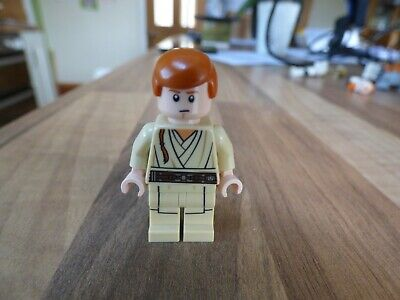 Lego Star Wars Figure YOUNG OBI WAN KENOBI  In EXCELLENT CONDITION • 2.49£