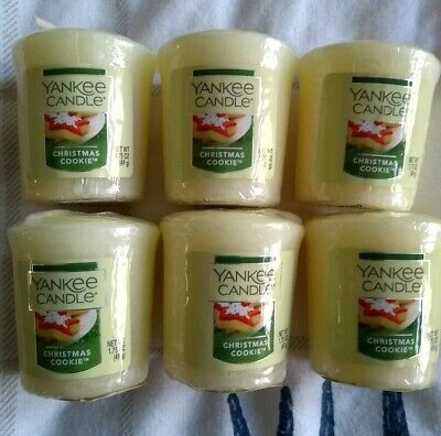 Yankee Candle Votives - Christmas Cookies X6 • 13.99£