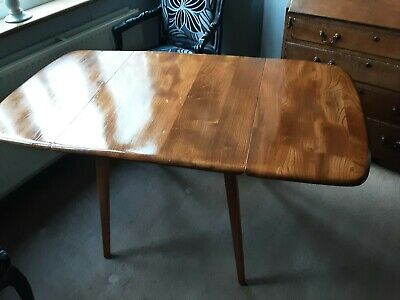 Ercol Dining Table Drop Leaf • 100£