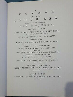 Captain William Bligh Journey To The South Sea Very Good Condition • 10£
