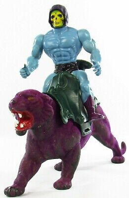 $44.79 • Buy MOTU Vintage Skeletor And Panthor Lot Of 2 Masters Of The Universe Near Complete