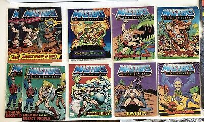 $25 • Buy Vintage Masters Of The Universe He Man COMIC BOOKS Lot Of 10 MOTU 80s + Poster