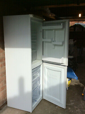 Hotpoint Iced Diamond Fridge Freezer White Good Condition • 20£