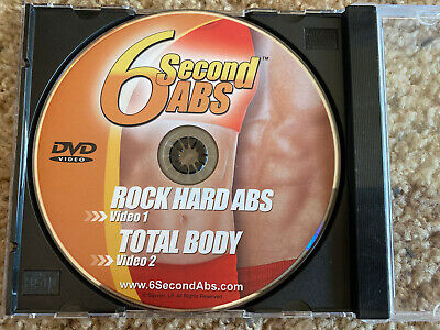 AU15.25 • Buy 6 Second Abs Dvd Workout