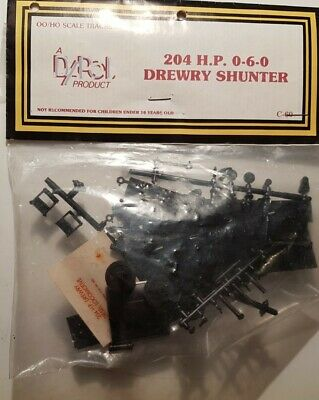 A New Rare Bagged Vintage Dapol C.60 Drewry 0-6-0 Shunter Model Kit. Lot BK1135 • 3.21£