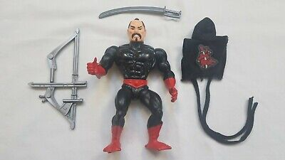 $99.99 • Buy Vintage 1987 Masters Of The Universe MOTU Ninjor Near Complete With Accessories
