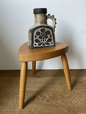Handmade Wooden Tripod Table Planter Stand • 15£