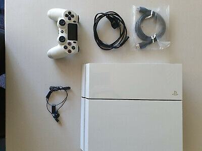 AU183.50 • Buy SONY Ps4 PLAYSTATION CONSOLE GLACIER WHITE  + GAMES