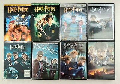 $ CDN38.06 • Buy Harry Potter Complete 1-7 DVD Collection Set