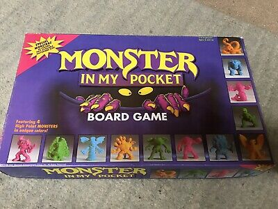 Monster In My Pocket Board Game 100% Complete + Extra MIMP Matchbox Vintage Toys • 12.50£