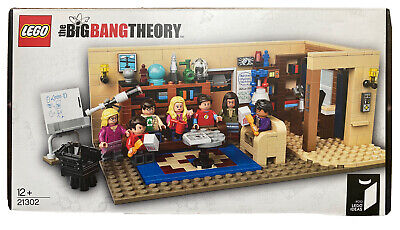 Big Bang Theory Lego Set 21302 (Retired Product)Complete With Box & Instructions • 77£
