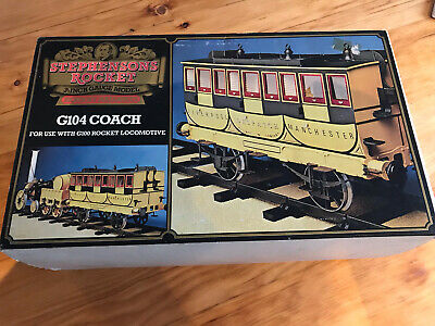 HORNBY G104 COACH FOR  STEPHENSONS ROCKET 3.5  GAUGE Boxed • 140£