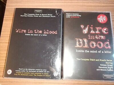£7.95 • Buy Wire In The Blood - Series 1-4 (DVD)