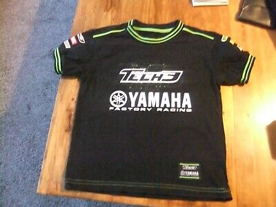 Official Yamaha Racing T-shirt - Age 3-4 Years • 1£