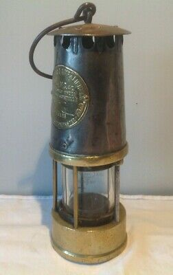 Vintage Brass Miners Lamp Protector Light & Lighting Manchester MC40 No.83 • 19.95£