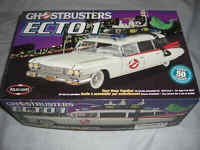 Ghostbusters ECTO 1 Miller Meteor Cadillac Model Kit By Polar Lights 1:24 Scale • 24.99£