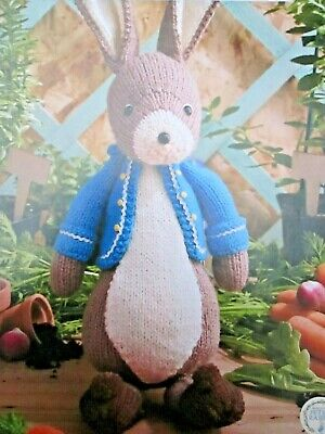 Toy Knitting Pattern Beatrix Potter Peter Rabbit Detailed Character Favourite  • 3.99£