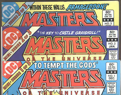 $9.99 • Buy Masters Of The Universe 3-Issue Mini-Series (DC, 1982) NM [Scans] #1 #2 #3
