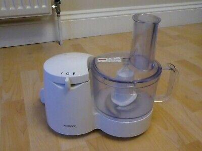 White Kenwood Food Processor, FP108, In Used But Good Working Condition • 7.50£