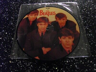 The Beatles 7  Picture Love Me Do / P.s. I Love You. Rp4949 • 9.99£