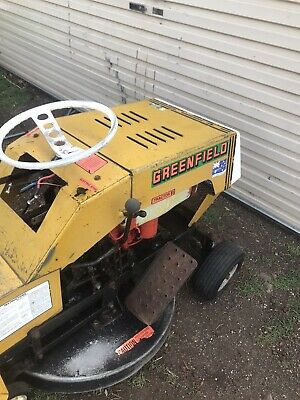 AU500 • Buy Greenfield Mower Used Runs And Cuts 11hp