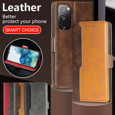 $ CDN9.07 • Buy For Samsung Galaxy Note20 Ultra Note10+ Lite Note9/8 Leather Wallet Case Cover