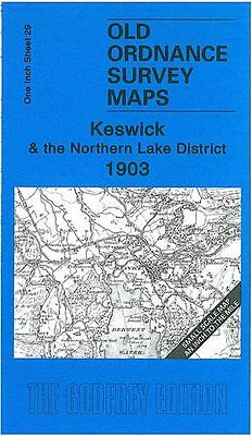 Old Ordnance Survey Map Keswick & The Northern Lake District 1903 • 3.44£