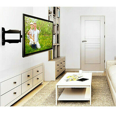 AU35.91 • Buy 20-55  TV Wall Bracket 400x400mm Mount With Tilt And Swivel Swing Arm Cantilever