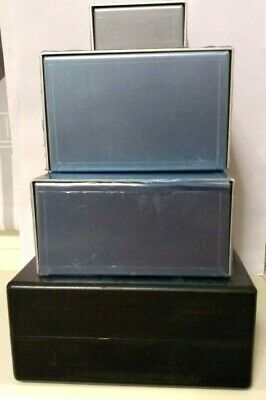 Lot Of Four Assorted Project Boxes Cases Enclosures • 10.50£