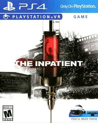 AU26.71 • Buy The Inpatient (VR Required) Playstation 4 PS4 Excellent Condition Sony