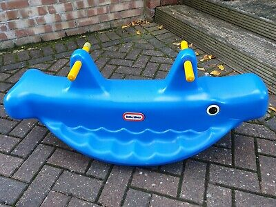 Little Tikes Blue Whale Rocking Seesaw • 5£