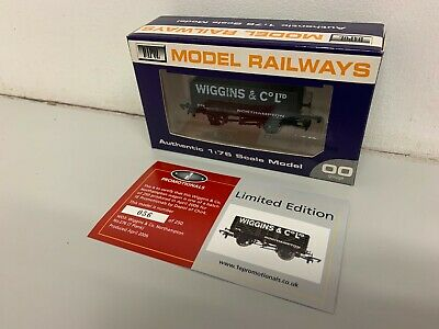 Dapol / 1E Promotional 7 Plank Coal Wagon 'Wiggins & Co LTD Northampton' - Boxed • 19.50£
