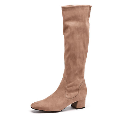 PETER KAISER Tomke Taupe Stretch Suede Knee Boot - UK Size 6 BNIB • 90£