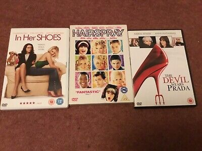 In Her Shoes, Devil Wears Prada, Hairspray • 0.90£