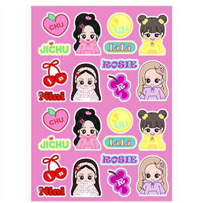 $ CDN5.11 • Buy Blackpink Cartoon PVC Photo Sticker For Mobile Luggage DIY Decorative Stickers