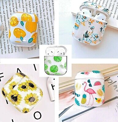 AU17.99 • Buy Apple AirPods 1/2 Case Silicone Cover Skin AirPod Earphone Charger Cases Pretty