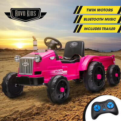 AU199 • Buy 【EXTRA10%OFF】ROVO KIDS Ride On Tractor Toy Electric Car Battery Kids Girls