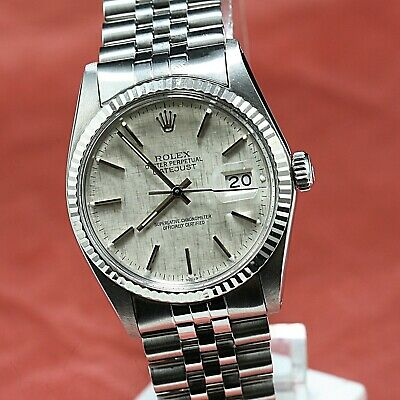 $ CDN5884.57 • Buy Vintage ROLEX OYSTERPERPETUAL DATEJUST Ref 16014 AUTOMATIC  Cal 3035  27 Jewels