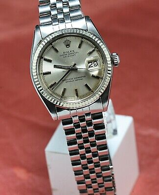 $ CDN4872.48 • Buy Vintage ROLEX OYSTERPERPETUAL DATEJUST Ref 1601 AUTOMATIC  Cal 1570  26 Jewels