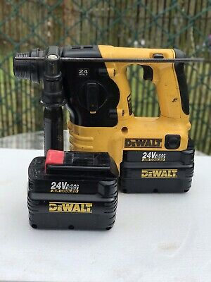 Dewalt DC223 24V SDS Rotary Hammer Drill Plus 2xBatteries (no Charger) • 135£