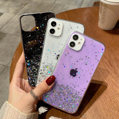 AU5.42 • Buy GLITTER Case For IPhone 11 12 Pro Max XS XR 8 7 Plus Shockproof Protective Cover
