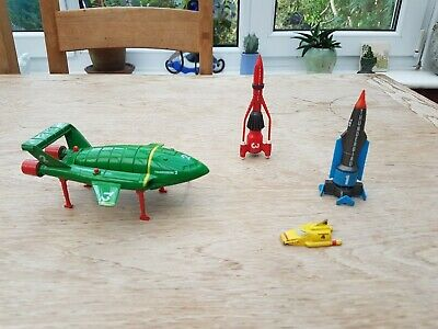 1992 Matchbox Thunderbirds 2 And 4 Diecast Models Toys 90s Metal Painted Vintage • 18£