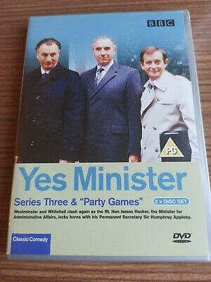 Yes Minister - Series 3 (DVD, 2003) • 3.49£