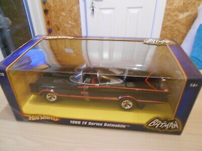 Hotwheels 1966 TV Series Batmobile 1:18 (Boxed Unopened) • 25£