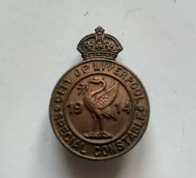 Liverpool Special Police WW1 Lapel Badge - Obsolete  • 40£