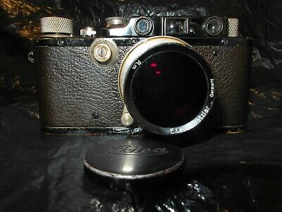 Leica III Black Golded 1935 Nº.149725 With Summar Lens F=5 Cm And Infrared • 586.88£