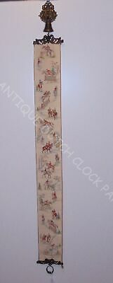 Embroidered Equestrian House Bell Pull Cord Nice Hardware • 50.07£